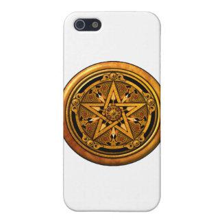 Zazzle - Pentáculo-noback masculino del oro iPhone 5 Carcasas