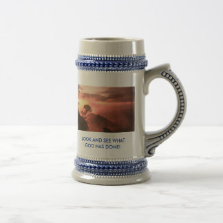 ZAZZLE PIX 016, LOOK AND SEE WHAT GOD HAS DONE! COFFEE MUGS