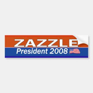 ZAZZLE President Car Bumper Sticker