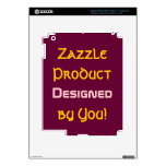 Zazzle Product Designed By You! 2 iPad 3 Decal