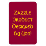 Zazzle Product Designed By You! Flexible Magnet