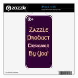 Zazzle Product Designed By You! iPhone 4S Skin