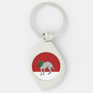 zazzle red and white backgrond keychain