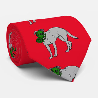 zazzle red and white backgrond tie