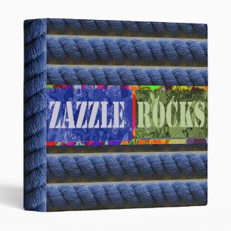 Zazzle Rocks -  Your Zazzle Product Presentation 3 Ring Binders