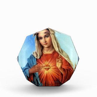 ZAZZLE SACRED HEART OF MARY 01 CUSTOMIZABLE PRODUC AWARD