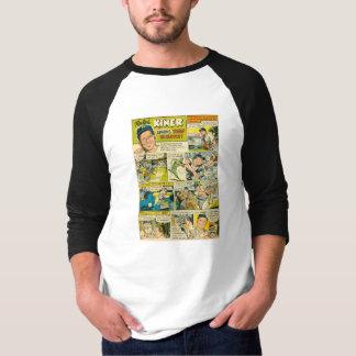 Zazzle Shirt RALPH KINER Baseball 1952 Comic Page