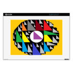 "Zazzle Skin ""Abstraction"" 15"" Laptop Decals"