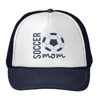 Zazzle Soccer Mom Sports Hat