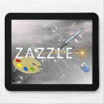 Zazzle Space logo Mouse Pad