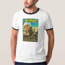 Zazzle T-Shirt 1952 ROY ROGERS Comic Book Cover
