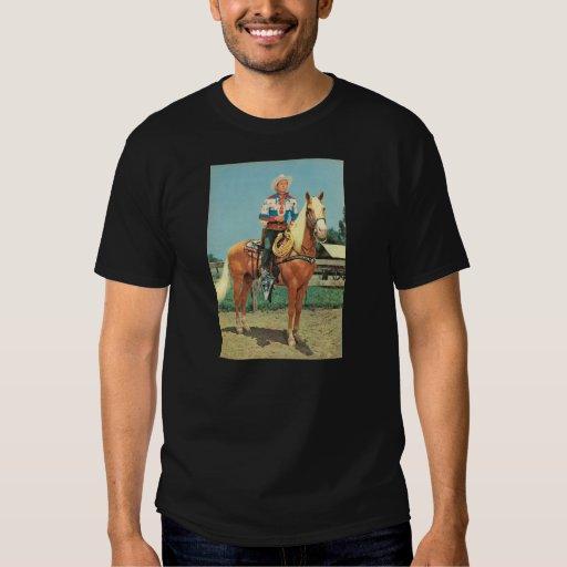 Zazzle T-Shirt ROY ROGERS 1952 Trigger Cowboy