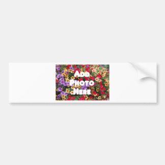 Zazzle Template Design My Own Photo Present Upload Bumper Sticker