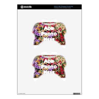 Zazzle Template Design My Own Photo Present Upload Xbox 360 Controller Skins