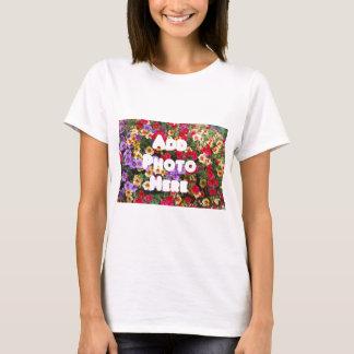 Zazzle Template Design My Own Photo Present Upload T-Shirt