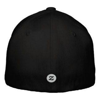 """Zazzle Text Logo 0.75"""" Embroidered Hats"""