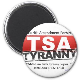 Zazzle TSA Tyranny Image 2 Inch Round Magnet