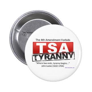 Zazzle TSA Tyranny Image Pin