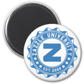 Zazzle University 2 Inch Round Magnet