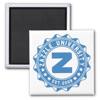 Zazzle University 2 Inch Square Magnet
