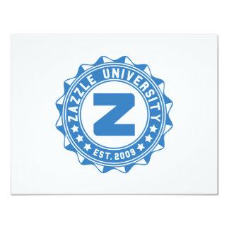 Zazzle University 4.25x5.5 Paper Invitation Card