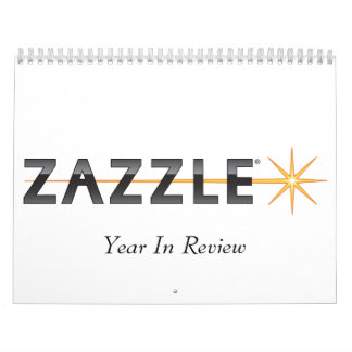 Zazzle, Year In Review Wall Calendars