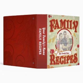 zazzleaveryrecipecontest2010 Family Recipes Custom Binder