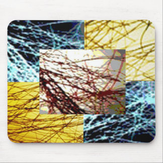 ZAZZLELIST Dreams with golden strands Mouse Pad