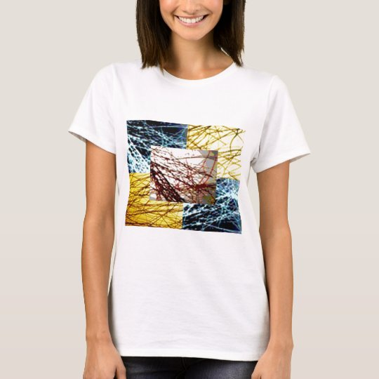 ZAZZLELIST Dreams with golden strands T-Shirt