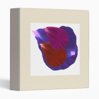 Zazzlelist Love Symbol Flower Petals 1 3 Ring Binder