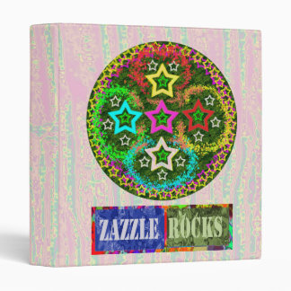 Zazzlerocks  *****FiveStar ***** Collection 2 3 Ring Binder