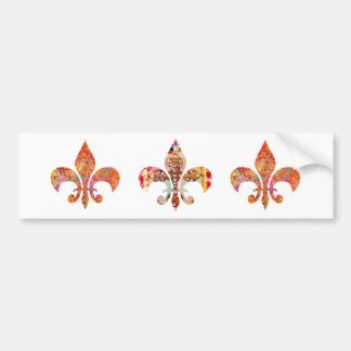 ZazzleRocks: Fleur-de-Lis Series Bumper Sticker