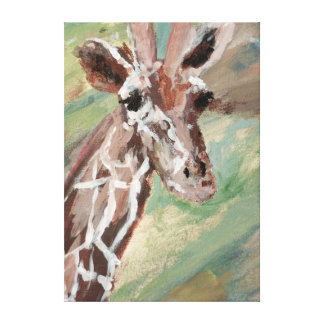 Zazzle's gloss canvas