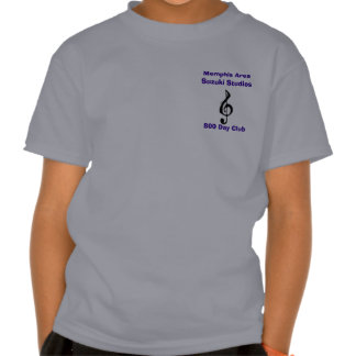 ZazzleTrebleClef, Memphis Area Suzuki Studios, ... T-shirt