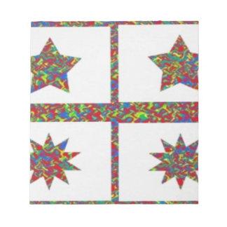 Zazzling Jewel n Star Designs: Super Gift Ideas Notepads
