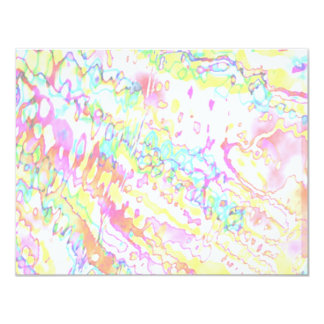Zazzling Magical Snowflake Jewels 4.25x5.5 Paper Invitation Card