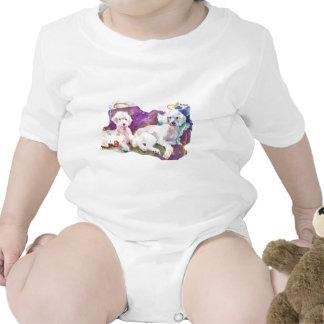 ZazzPoodles.jpg Baby Bodysuit