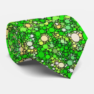 Zazzy Bubbles,green Tie