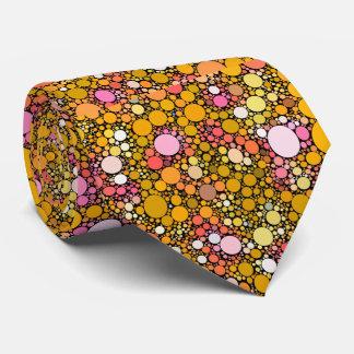 Zazzy Bubbles,orange Tie