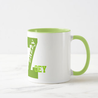 Zazzy Z Names, Personalize The Name, Monogramed Mug