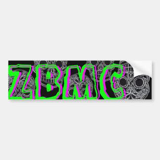 ZBMC GHOST OF ZEN SUPPORT STICKER CAR BUMPER STICKER