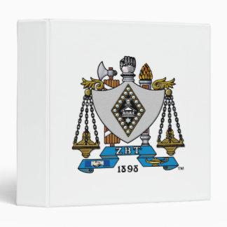 ZBT Crest Color 3 Ring Binder