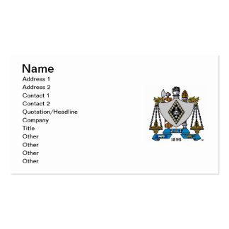ZBT Crest Color Business Card
