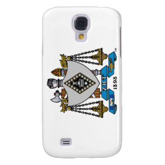 ZBT Crest Color Samsung Galaxy S4 Covers