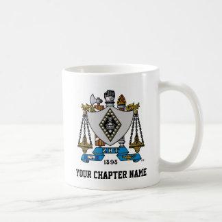 ZBT Crest Color Coffee Mug