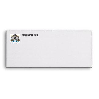 ZBT Crest Color Envelope