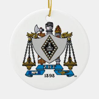 ZBT Crest Color Ornaments