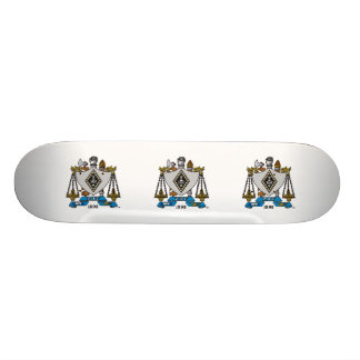 ZBT Crest Color Skateboard Deck