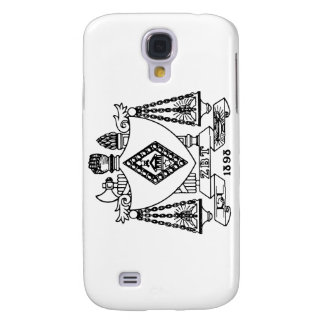 ZBT Crest Galaxy S4 Cover