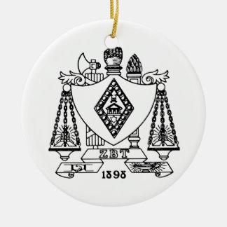 ZBT Crest Ornaments